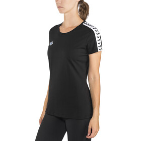 arena Team T-Shirt Women black-white-black